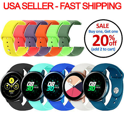 Replacement Silicone Band Strap Small/Large For Garmin VivoActive 3