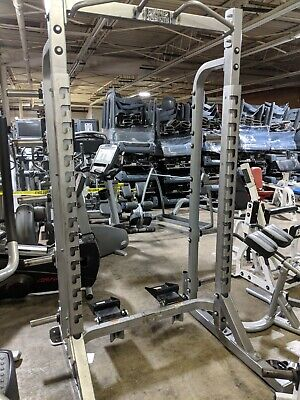 HAMMER STRENGTH HALF RACK Commercial Gym Exercise Power Cage