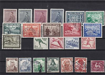 germany used+no gum stamps ref 12516