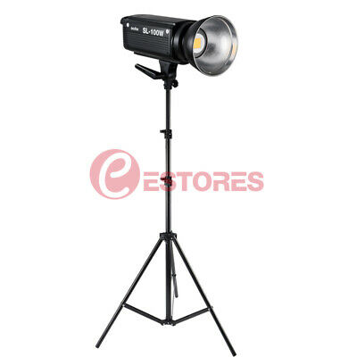 Godox SL-100W 5600K Studio LED Continuous Video Light White Version +Light Stand