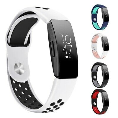 Silicone Watch Band Wrist Strap Replacement For Fitbit Inspire / Inspire HR Band