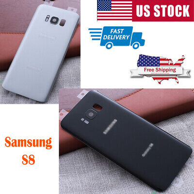 For Samsung S8 Plus Battery Back Cover Battery Back Door Glass Cover Replacement