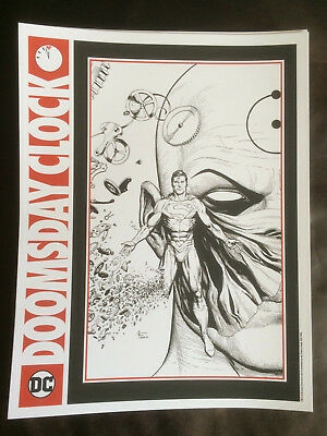 Doomsday Clock Gary Frank Cardstock Poster Folded Once **Buy 2 Get 1 Free