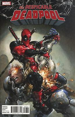 Despicable Deadpool #287 Crain 1:25 Variant Nm First Print Bagged And Boarded
