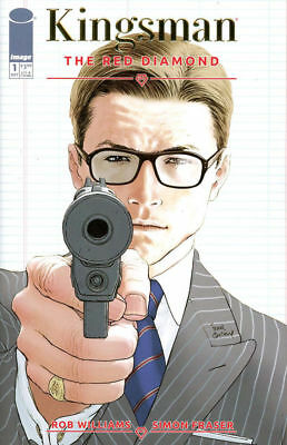 Kingsman Red Diamond #1 Retailer Variant Near Mint First Print Bagged & Boarded