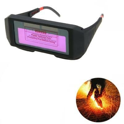 Welder Goggles Glasses Solar Powered Electric Welding Helmets Protective Mask