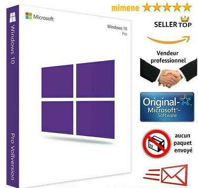 Windows 10 Pro Professional Activation Code Licence Key Genuin Product 32 64 bit