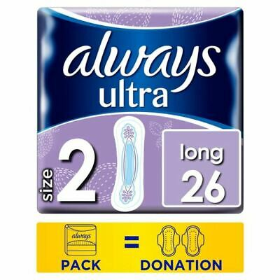 Always Ultra Long Size 2 Sanitary Towels 26
