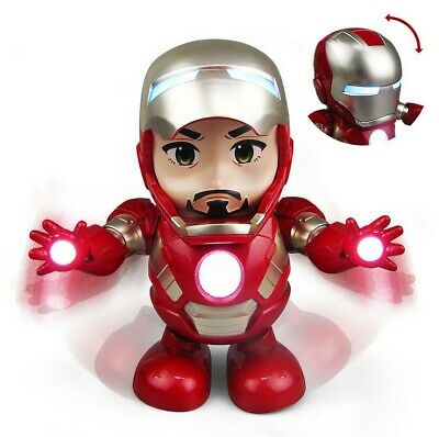 Marvel Avengers Infinity War Iron Man Dancing Endgame Electric Sound Toy