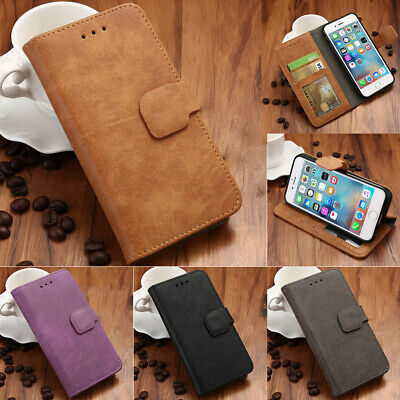 For iPhone 6s 6 Plus 5S Magnetic Leather Card Slot Wallet Protective Flip Cover