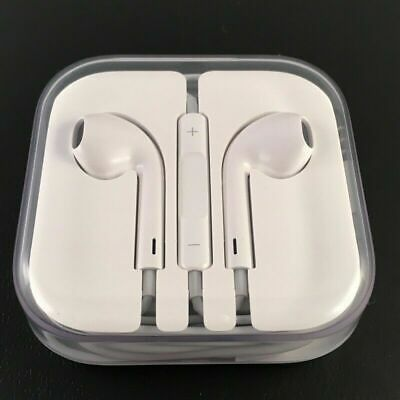 2x High quality Apple iPhone 4 5 6  Ear-Pods Headphones Earphones
