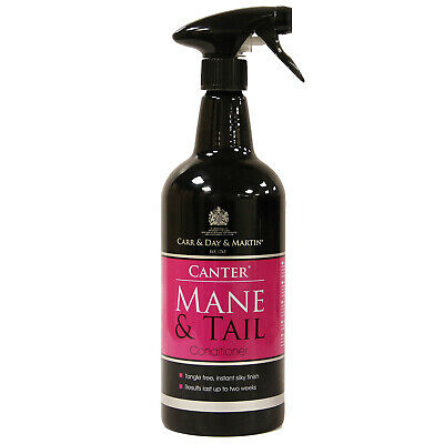 Carr Day Martin Canter  Mane & Tail 1 Litre Aluminium Spray Bottle