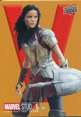 Marvel Ten [10] Years Roman Numerals Chase Card RN44 Lady Sif