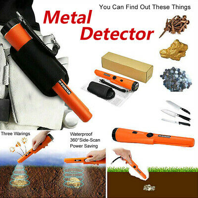 Waterproof Pinpointer Pin Pointer Probe Metal Detector Automatic Tuning Holster