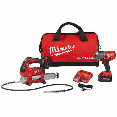 Milwaukee 2767-22GG 18-Volt 1/2-Inch Friction Ring Impact Wrench w/ Grease Gun