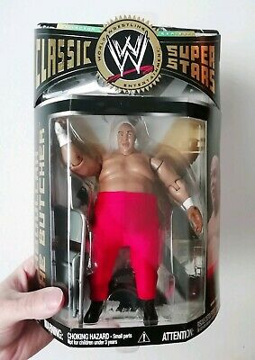 ABDULLAH THE BUTCHER Action figure Wrestling lottatore classic superstars !