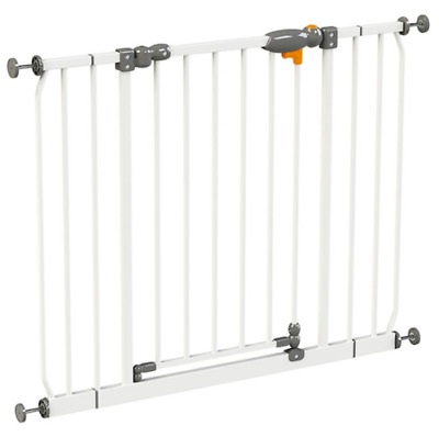 Baby Metal Safety Gates Pet Dog Child Door Stair Security Barrier Kids Play Gate