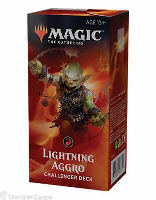MTG - Magic: the Gathering Challenger Deck 2019 : Lightning Aggro :: New & Seale