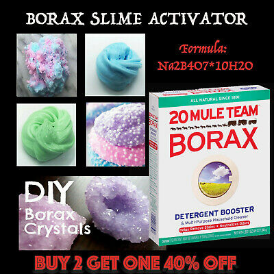 Borax- Sodium Tetraborate Decahydrate. 100g to 10 Kg, Best Grade for Slime