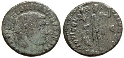 FORVM Constantine the Great AE20 Follis Heraclea Mint Jupiter Victory and Eagle