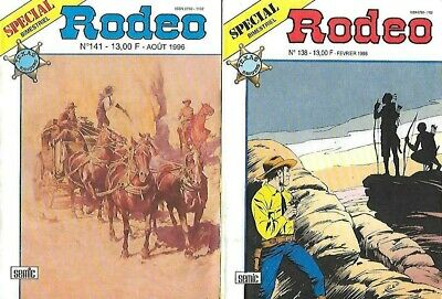 Petits Formats SPECIAL RODEO n° 138 + 141 éditions SEMIC 1996