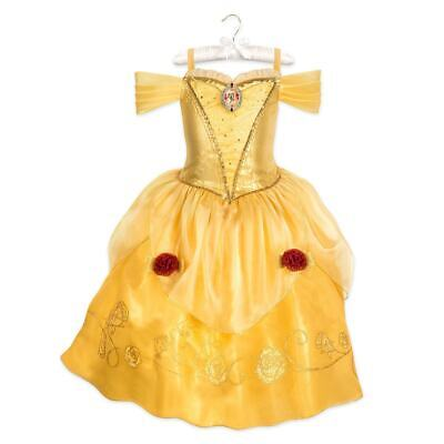 Disney Princess Belle Beauty & the Beast Costume Girls Size 3 4 5/6 7/8 9/10