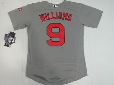 862e73ad2 NWT Ted Williams #9 Boston Red Sox Flex Base Collection Throwback Jersey  Gray