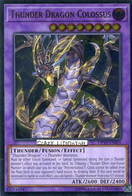 Yu-Gi-Oh Thunder Dragon Colossus Promo Ultimate Rare Mint Op10-En001