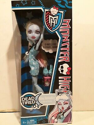 Monster High Dead Tired Abbey Bominable Doll - NEW & SEALED!