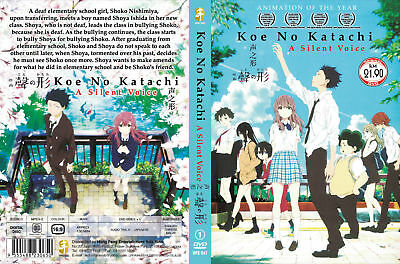 A SILENT VOICE KOE NO KATACHI THE MOVIE Japanese Audio English Subtitles