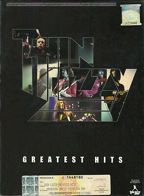 THIN LIZZY Greatest Hits MALAYSIA DELUXE SOUND & VISION 2 CD + DVD SET FREE SHIP