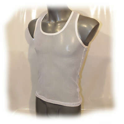 Muscle Shirt transparent anatomisch geformt Size XL (2344)