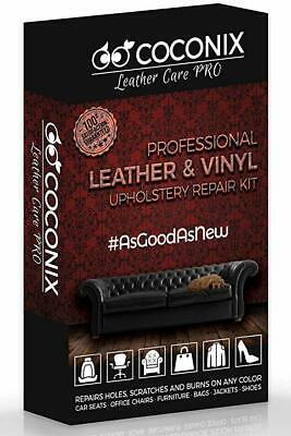 Coconix Upholstery, Vinyl and Leather Repair Kit - Furniture, Couch, Sofa, Boat