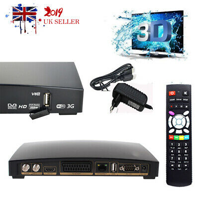 1080P FREESAT GENUINE Openbox V8S HD Digital TV Satellite Receiver