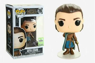 FUNKO POP New Toy Game of Thrones ARYA STARK Assassin #76 Vinyl Action Figure