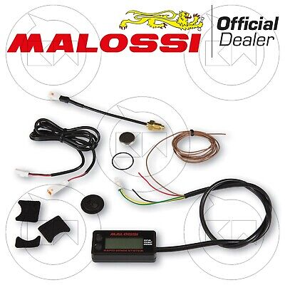 Malossi Rapid Sense System Compter Tours Heures Température Aeon Motor Cobra S