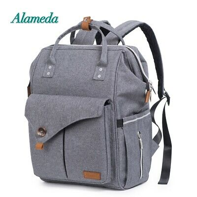 Large Baby Diaper Nappy Changing Mummy Bag Rucksack Hospital Maternity Backpack
