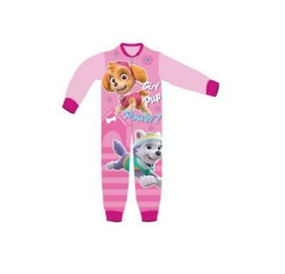 Girls Paw Patrol one piece Pajamas Pink new with tags