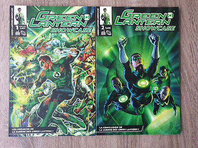 Lot de 2 Magazines Urban DC Comics - Green Lantern Showcase 1 et 2 - TBE