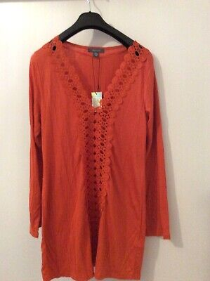 1ada833e46 BNWT PRIMARK BLACK Embroidered Detail Beach Cover Up Size L - £3.00 ...