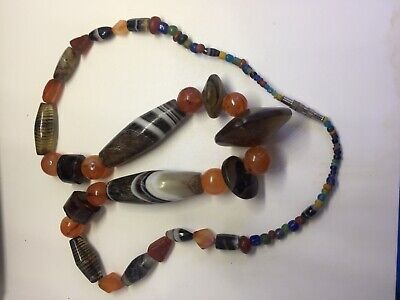 Ancient  Old Roman  Beads Old Agate Mixed Beads Antiques Beads Roman Glass Beads
