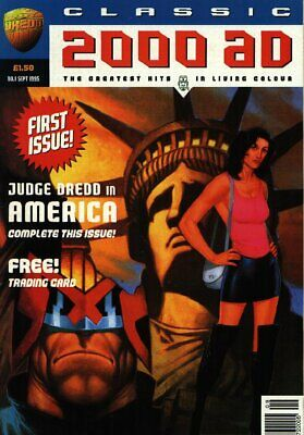 """2000AD ft JUDGE DREDD presents """"CLASSIC 2000AD"""" - ISSUE 1 with GIFT 1995 - VGC"""