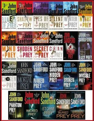 23 AUDIOBOOKS - Lucas Davenport Prey Series by John Sandfor⚡Email Delivery(10s)⚡