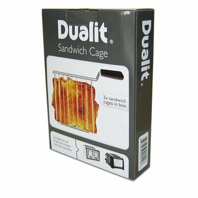 Dualit Sandwich Holder Cage Lite and Architect Toasters