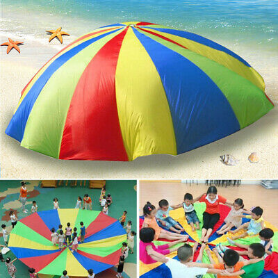 6.5ft Kids Play Rainbow Parachute Outdoor Game Exercise Sport Group Activities
