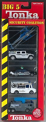Tonka Maisto Big 5 Series Security Coalition Die Cast 1:64 Scale Set MIB 1999