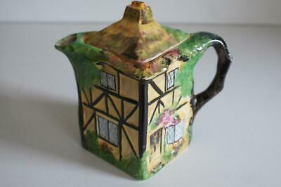 A Olde England Hand Painted Rubian Pottery Grimwades Coffee/ Hot Water Pot.