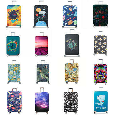 """18"""" - 32"""" Elastic Anti-scratch Luggage Cover Suitcase Protector Dust Protective"""