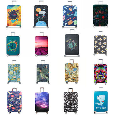 """Elastic Anti-scratch Luggage Dust Cover Protective Suitcase Protector 18"""" - 32"""""""