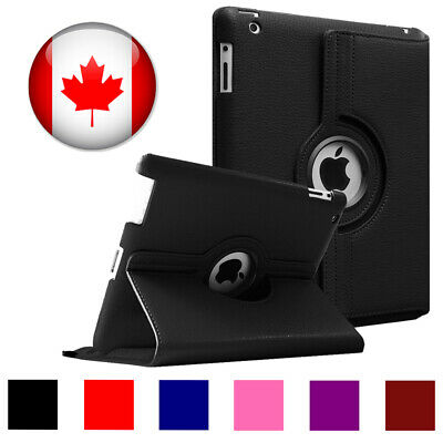For Apple iPad Air - 360 Degrees Rotating Leather Case Cover